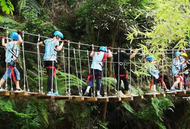 儋州福安探险乐园-丛林穿越门票(不含玻璃漂流)