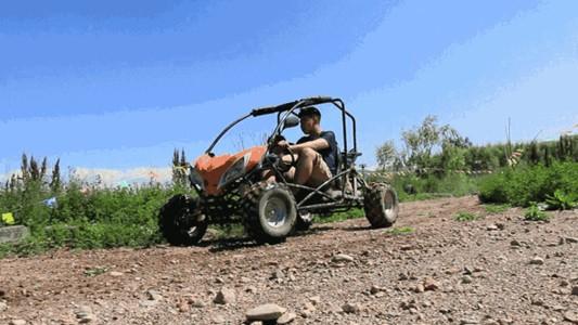 儋州福安探险乐园-山地越野车门票(不含玻璃漂流)